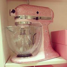 Pink bling KitchenAid