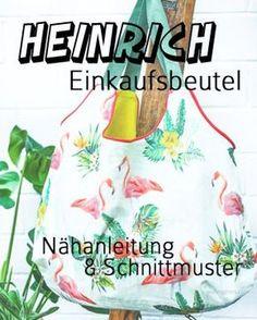 Heinrich Einkaufsbeutel | Nähanleitung & Schnittmuster | waseigenes.com