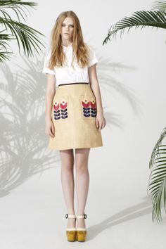 Orla Kiely Spring Summer 2014 available in stores now!---too bad I'm a poor person!