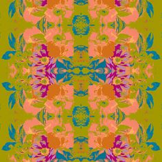 Old Bouquet fabric by serendipity_textiles on Spoonflower - custom fabric