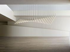 Lámpara colgante LED de vidrio soplado ALGORITHM - Vibia