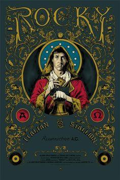 Rocky - movie poster - Cesar Moreno