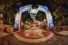 The Entrance to Rock n Roller Coaster in Disney's Hollywood Studios