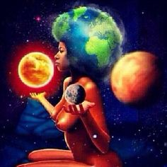 She be universe Earth, wind, and fire… She be mother Protector She be higher… Power… She be powerful She be goddess She God God be she-like She be creator She be creating She create things We destroy it She rebuilds it She be building ....