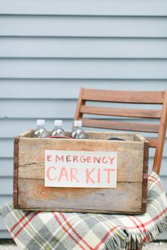 This DIY emergency car kit is a thoughtful gift that Dad is sure to appreciate.
