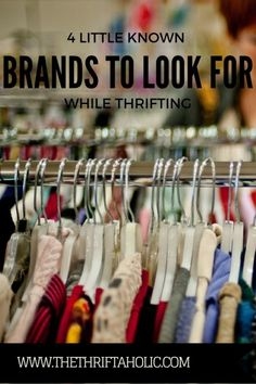 Thrifting and Reselling- 4 lesser-known brands to be on the lookout for Thrift Store Fashion, Thrift Store Outfits, Thrift Store Shopping, Thrift Store Crafts, Online Thrift Store, Thrift Store Finds, Shopping Hacks, Thrift Stores, Thrift Shop Outfit