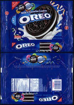 oreos packaging | Oreo Cookies Package Cookie package - 2012