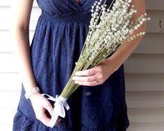 Dried Lavender Bouquet - 100 stems. $15.00, via Etsy.