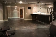Wyckoff NJ-Basement living - eclectic - spaces - new york - MFM Design & Construction llc