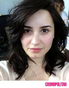 If she is pretty with out makeup give her 1 like. even if your a lovatic or not.