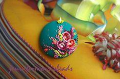 undersea carnival - vivid embroidery deco pendant | Flickr - Photo Sharing!