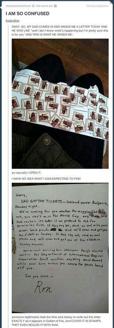 Quero fazer isso pra alguém um dia Hahahaha