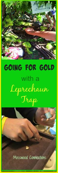 Going for Gold with a Leprechaun Trap  Keep the magic alive with this fun St. Patrick's day activity. We decided to make a leprechaun trap and sell the gold.