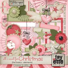 All I Want for Christmas The Basics - Elements by Fayette Designs