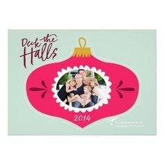 Ornamental Holiday Greeting Invites