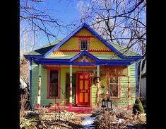 Dr. Seuss-like Home