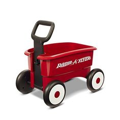 Ride-On Toys - Radio Flyer My 1st 2in1 Wagon Ride On Red >>> You can get more details by clicking on the image.
