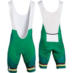 The perfect St. Patrick's Day bib shorts. lol