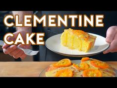 Binging with Babish: Clementine Cake from The Secret Life of Walter Mitty - YouTube
