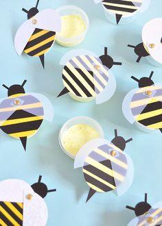 Mod Podge Slime Honeybee Favors
