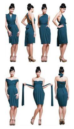 Bridesmaid dress? BUTTER BY NADIA - Jersey Dress Sapphire @Jaline Eguillos-Johnson Lyons Meets Dress