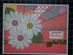 Birthday Card - CTMH Dreampop paper
