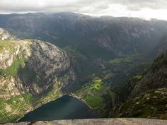 Here's the view of Lysebotn, Norway, after you've made it up the insanely crazy and dangerous Lysebotn Road