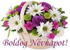 Name Day, Flower Arrangements, Planter Pots, Floral Design, Floral Wreath, Wreaths, Birthday, Flowers, Plants