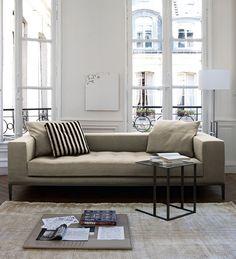 "Sofas: SIMPLEX - Collection: Maxalto -"" Design: Antonio Citterio"