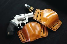 Custom leather gun holster by Vigilant Holsters a product of pinkpistolholsters.com