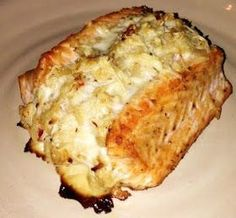 The Barnyard Bistro: Crab Stuffed Salmon