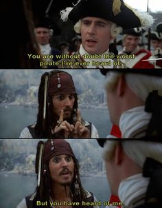 Best part of Pirates of the Caribbean