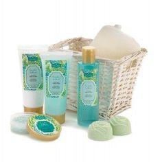 Cucumber Basil Bath Gift Set