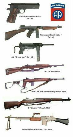 Стрелковое оружие  США  в о второй  мировой  войне