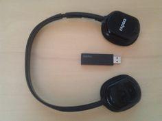 Queria um headphone sem fio e comprei um bluetooth, que não funcionou muito bem no meu PC. Resolvi então comprar um que não é bluetooth e de marca boa, como este Rapoo H1080.