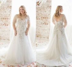 Wedding Gown For Plus Size Photography - discount plus size wedding dresses 2018 boat neck half sleeve appliques lace wedding dress beaded court train custom made cheap wedding gown pictures Wedding Dresses Canada, Wedding Dresses Near Me, Informal Wedding Dresses, How To Dress For A Wedding, Popular Wedding Dresses, 2016 Wedding Dresses, Wedding Dress Shopping, Cheap Wedding Dress, Designer Wedding Dresses