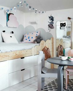 A kid's bed that makes a statement - by Kids Interiors