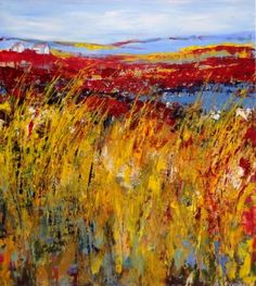 "Saatchi Art Artist Ine Louise Mourick; Painting, ""The Highlands"" #art"