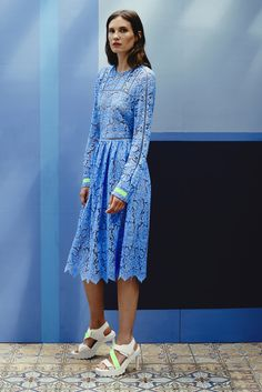 Preen by Thornton Bregazzi | Resort 2015 Collection | Style.com