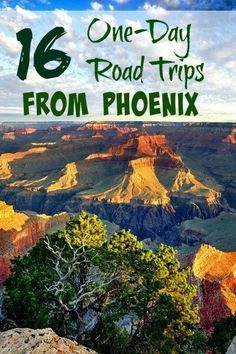 16 One-Day Road Trips from Phoenix. Lots of fun ideas for travel in Arizona.