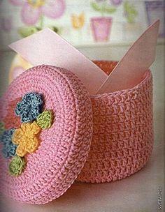 caja de crochet