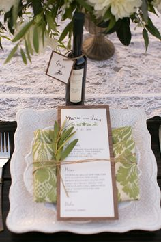 Wood grain paper and local olive oil favors.  Tuscan-inspired design by Michelle Garibay Events. Leah Marie Photography / Danza Del Sol Winery Temecula / Soiree Design and Events / Paper Villa Fine Stationery / Rustic Events / Luxe Linen / Madam Palooza Emporium