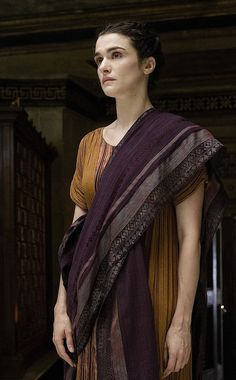 Rachel Weisz as Hypatia in Agora - 2009 Ancient Rome, Ancient Greece, Ancient History, Rachel Weisz, Greek Fashion, Period Costumes, Historical Clothing, Larp, Westminster