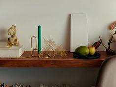 "Ein HAY-Klassiker: Kerzenständer ""Lup Table Candle Holder""."