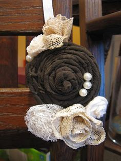 While He Was Napping: Guest Post: Fabric Flower Headband by Kensington Cottage