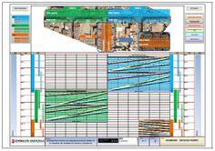 Diagramas Espacios Tiempo Bar Chart, Diagram, Spaces, Bar Graphs