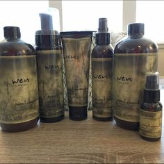 3 month supply WEN hair care set AT LEAST a three month supply of products! Brand new, still packaged, complete Wen hair care set. Includes: 2 16oz cleansing conditioners, 1 nourishing mousse, 1 anti-frizz styling creme, 1 replenishing treatment, 1 straightening smooth gloss. Let me know if you have any questions! Wen Accessories Hair Accessories