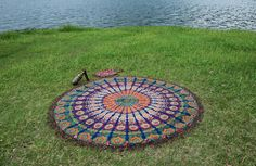 Check out this item in my Etsy shop https://www.etsy.com/uk/listing/467400729/nandnandini-1-x-indian-mandala-round