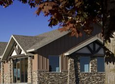 Mason's Choice - Chantilly Stone Gallery, Manufactured Stone, Grand Entrance, Commercial Design, Design Projects, Choices, Cabin, House Styles, Outdoor Decor
