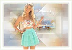 ASDwebdesigns - Summertime - Original by Kad's PSP Design